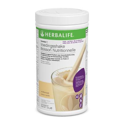 Herbalife Formula 1 - vanille vrij van gluten, soja en lactose