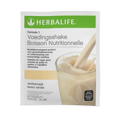 Herbalife Formule 1 vanille - 7 zakjes