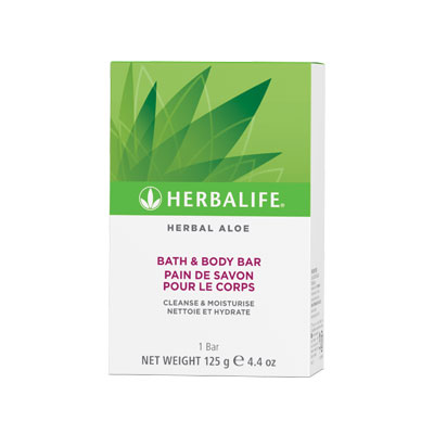 Herbal Aloe Bath and Body bar - 125 gr